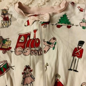 beaufort bonnet company One Pieces - Boutique Christmas footed pajamas